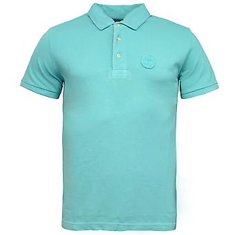 Timberland Milford Washed Pique 3 Button Up Heren Polo Shirt 0YGEW TI3 X56A