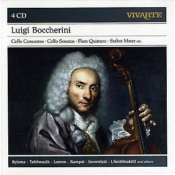 Luigi Boccherini: Cello konsertot Sello - Luigi Boccherini: Cello konsertot; Jne [CD] USA tuonti
