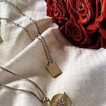 Cils De Beauté Necklace- Gold