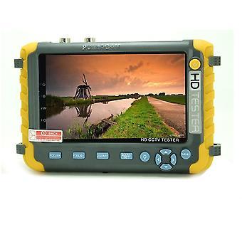4-en-1 Camera Monitor, Cctv Tester- Ahd/cvi/ Tvi/ Cvbs Cameras Test Tool