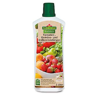 FLORISSA Tomatoes Vegetables and strawberry fertilizer, 1 litre