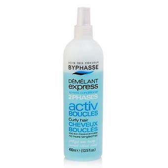 Byphasse Two-phase Conditioner Activ Curly hair 400Ml. Blue