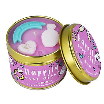 Bomb Cosmetics Tinned Candle - Happily Ever After