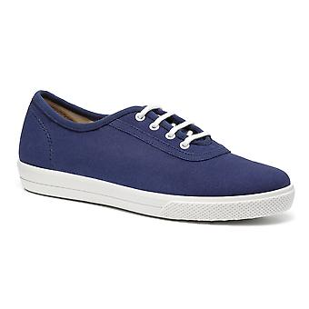 Hotter Women's Mabel Wide Fit Lace Up Deck Chaussures