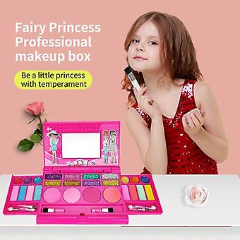 Kids Makeup For Pretend Play Cosmetic Box