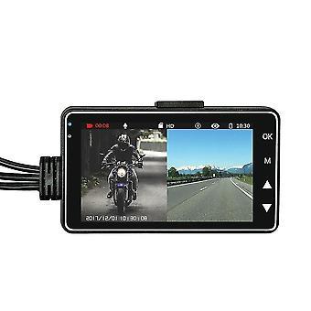 Motorrad dvr Dual-Objektiv-Fahrrekorder