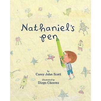 Nathaniel's pen 21x26 by Corey John Scott - Diego Caceres - 978136419