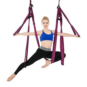 Yoga Hammock Trapeze Sling Inversion Tool For Gym Home Fitness