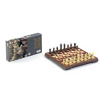 Chess and checkers board cayro magnetic (24 x 24 cm)