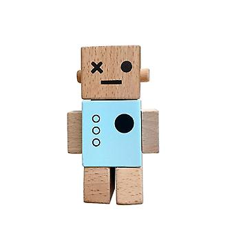 Nordic Wooden Baby Fashion Robot