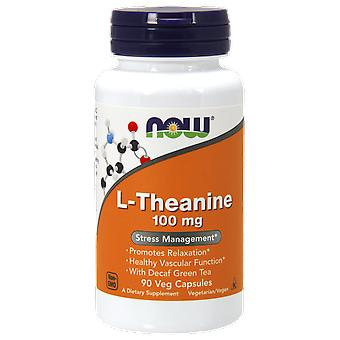 Maintenant Aliments L-Theanine 100 mg 90 Kapseln