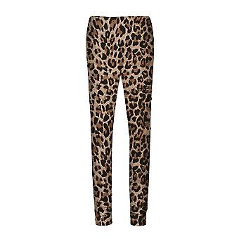 Yangfan Donna 3D Stampa Digitale Leopard Pattern Yoga Workout Pantaloni