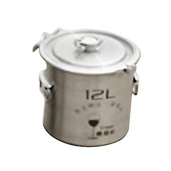 12l Stainless Steel Fermenter Barrel With Faucet