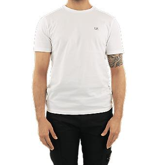 C.P.Company T-Shirts - Short Sleeve White 10CMTS037005100W103 Top
