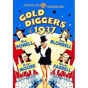 Gold Diggers of 1937 [DVD] USA importieren