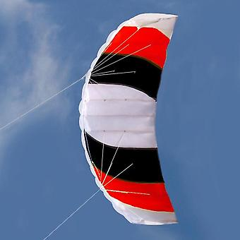 Dual Line Mix Color Stunt Parachute Flying Kite