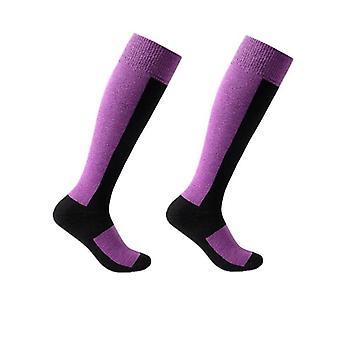 Winter Warm Men Women Thermal Long Wool Ski Socks