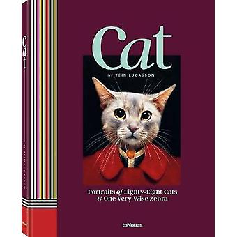 Cat Portraits of EightyEight Cats  One Very Wise Zebra