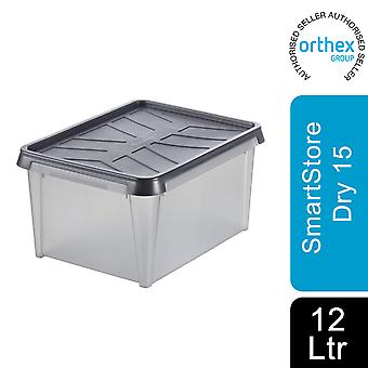 Orthex SmartStore Waterproof All Purpose Dry Storage Box, Dry 15 - 12L