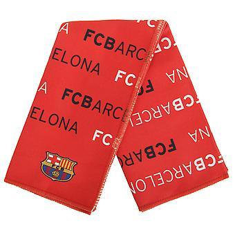 FC برشلونة تصميم النص الرسمي متعدد الأغراض منشفة كرة القدم