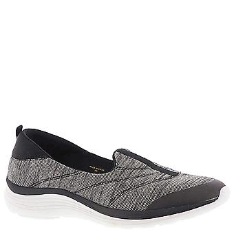 Easy Spirit Womens Glassy Fabric Closed Toe Loafers