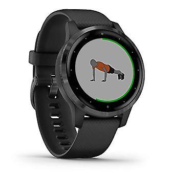 Garmin V voactive 4S - Ohut ja vedenpitävä GPS-fitness-älykello harjoitussuunnitelmilla ja animoiduilla harjoituksilla, 20 Ref-sovelluksella. 0753759227692