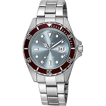 Radiante relógio analógico homem quartzo com cinta de aço inoxidável RA410204