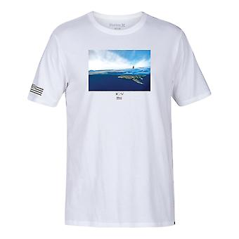 Hurley Clark week korte mouwen T-shirt in wit
