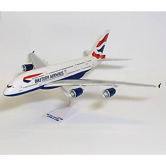FengChun SM38064WB British Airways Airbus A380 1:250 Clip-together Modell