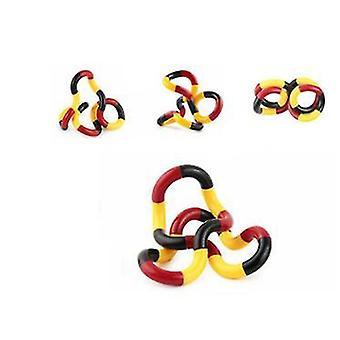 2ks 6# skrútený fidget anti stresová toka twist dospelá dekompresia, twist toy az21217