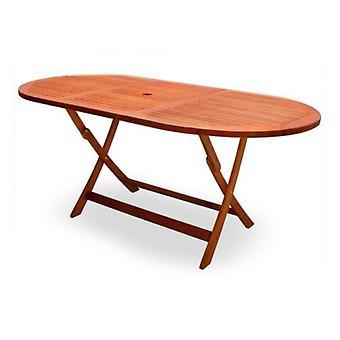 Mesa de jardín Alabama Hardwood