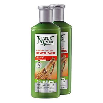 Revitalizing Shampoo Sensitive Naturvital (2 x 300 ml)