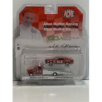 Allan Moffat Racing Mustang #38 and Ford F-350 Ramp Truck 1:64 ACME 50269