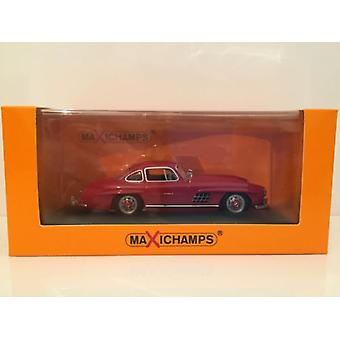 Maxichamps 940039001 Mercedes 300 SL Coupe 1955 Red 1:43 Scale