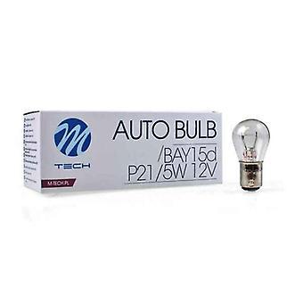 Fordonslampa MTECZ15 M-Tech P21/5W 21/5W 12V (10 st)