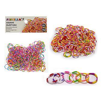 Elásticas de goma Mini Multicolor Multicolor