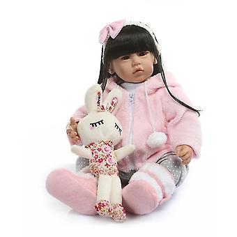 50Cm السيليكون تولد من جديد boneca realista أزياء دمى الطفل هدية عيد ميلاد الأميرة bebes الدمى تولد من جديد