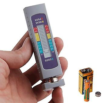 AA AAA 1.5V 9V Litium Akkutestaaja Digitaalinen Painike Akun kapasiteetin tarkistus Tehonmittaustyökalu