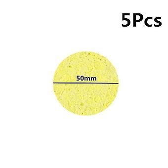Heatstable grube lutownice czyszczenie wymiana wysokiej temperatury odporne gąbki spawanie akcesoria do czyszczenia bawełny clea