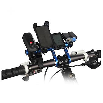 Bicycle Handlebar Bike Mount Extension Bar For Camera Light Clip Code Table Stand Bracket