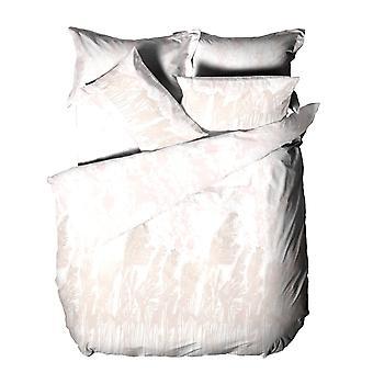 The Linen Yard Pampas Cotton Washed Duvet Cover Set