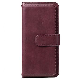 Pu Leather Wallet Case For Redmi Note 9s Phone Bag Case For Xiaomi Redmi Note 9s Multifunction Phone Cover