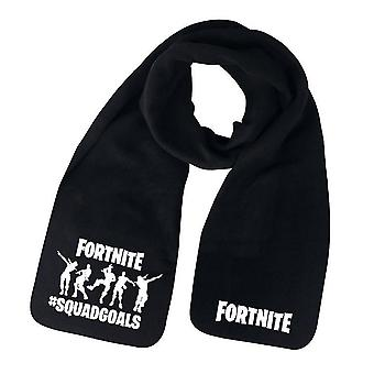 Cozy Fortnite scarf(Black)