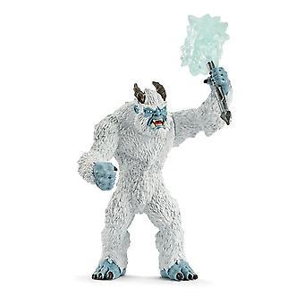 Eldrador Kreaturen Eismonster mit Waffe Spielzeug Figur