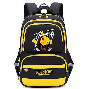 Chłopcy klasy 4-6 Casual Cartoon Anime Pikachu Plecak