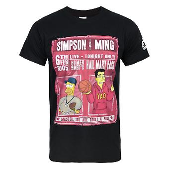 Simpsons officiellt Mens Simpson & Ming T-Shirt