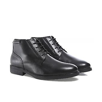Geox Leather Appiano Derby Boots