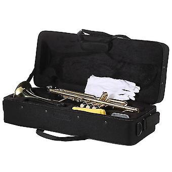 Trompette musicale Bb B Flat Brass Trompeta Exquisite Durable Trompete Musical