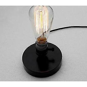 Nordic Wood Table Lamp And Bulb Holder