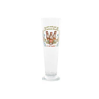Bierglas DKD Home Decor Kristall (400 ml) (7,5 x 7,5 x 24 cm)